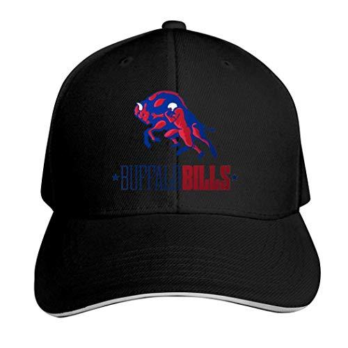 Buffalo Bills Kappe, neutral, verstellbar, Herren, 457P5QQ-PS6-67Q, Schwarz , Einheitsgröße
