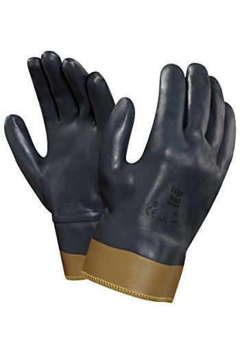 Ansell Edge 40-157 Gants pour usages multiples, protection mécanique, Gris, Taille 9 (Sachet de 12 paires)