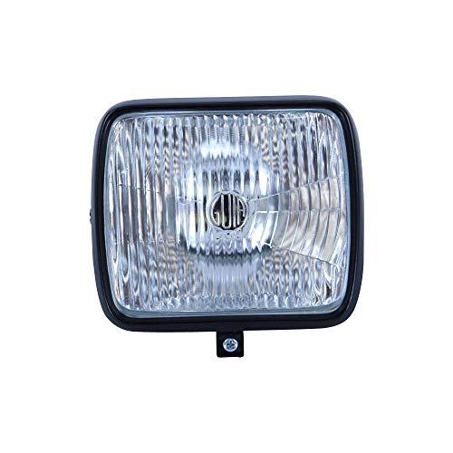 Zündapp koplamp vierkant zwart voor Hai CS CX GTS 50 KS 80 lamp compleet