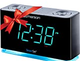 Emerson SmartSet Alarm Clock Radio with Bluetooth Speaker, Charging Station/Phone Chargers with USB...