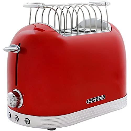 Schneider Comsumer SL T2.2 FR Toaster 2 Scheiben/E rot 850 W