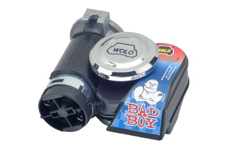 powerful Wolo (419) Bad Boy Horn – 12 Volts
