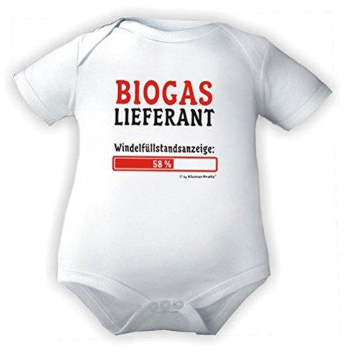 KLEINER FRATZ KLEINER FRATZ Baby Body 1/4-Arm (Fb. Weiss) (Gr.98) Biogaslieferant