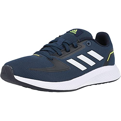 adidas Runfalcon 2.0, Road Running Shoe, Crew Navy/Cloud White/Legend Ink, 37 1/3 EU