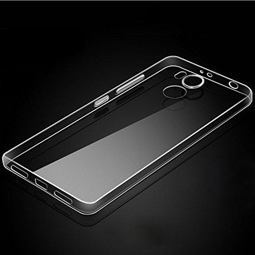 Eximmobile Silikon Case + Panzerfolie für Huawei Ascend Y530 Handyhülle mit 9H Echt Glasfolie Schutzhülle mit Schutzfolie Handytasche Silikonhülle Tasche Hülle Displayschutzfolie Displayschutz - 3