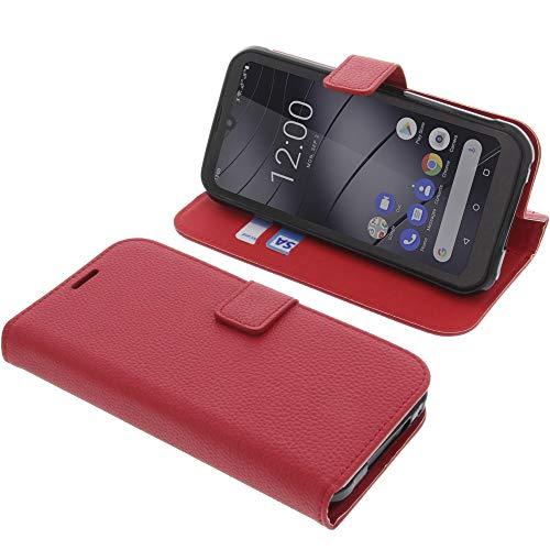 foto-kontor Tasche für Gigaset GX290 Book Style rot Schutz Hülle Buch