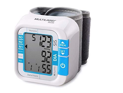 Monitor de Pressão Multilaser Arterial de Pulso - Hc204, Multilaser, Health Care HC204, Branco