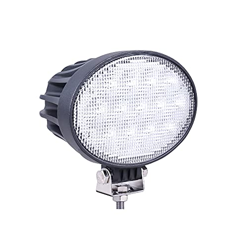 Primelux 6.5inch LED Tractor Lights 12/24V 5850LMS 65W High Power Working Lamp Compatible with John Deere Tractor 4010 4230 4430 3010 Offroad 4x4, 4WD, and More(Flood Beam)