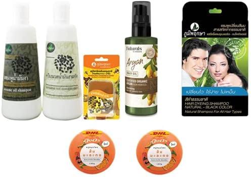 Extra Colorado Springs Mall Set Baivan Sesami Oil Regular store Conditioner Shampoo Nourishing Shamp