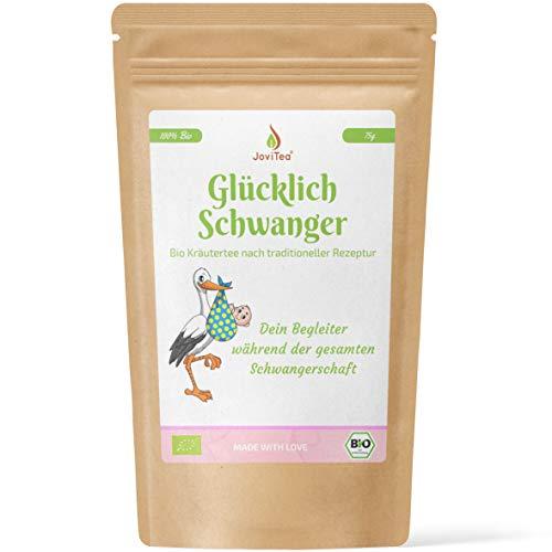 JoviTea Bio Kräutertee Glücklich Schwanger, 75 g