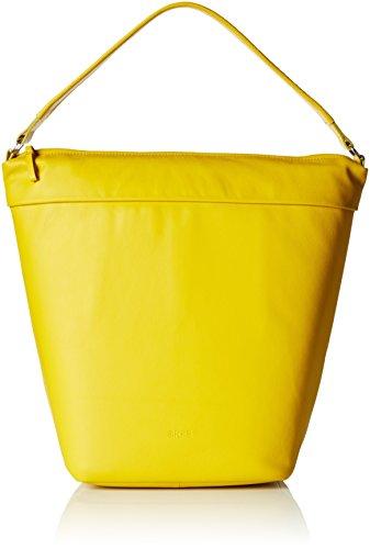 BREE Fantastic 4 330330004 Damen Schultertaschen 25x40x20 cm (B x H x T), Gelb (yellow 330)