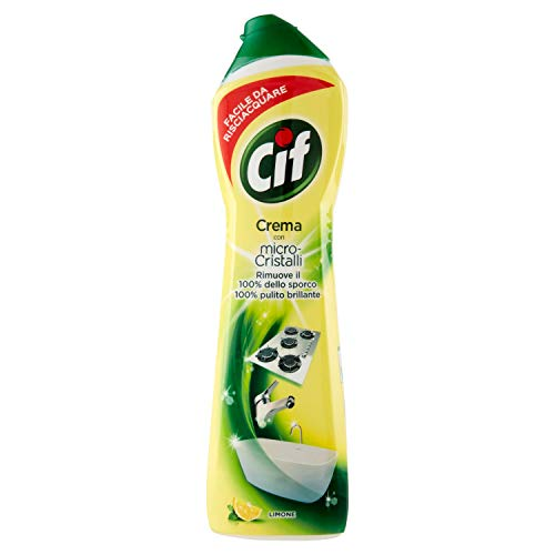 Cif – Crema limón, con micropartículas, 500 ml
