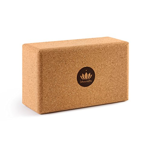 Lotuscrafts Yoga Block Cork Supr...