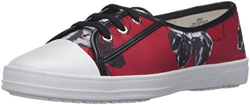 Price comparison product image Anne Klein AK Sport Women's Zagger Fashion Sneaker,  Red / Multi,  9.5 M US
