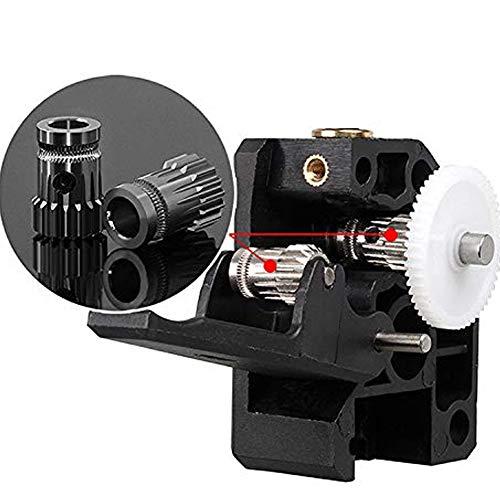 FANKUNYIZHOUSHI 3D Printer Extruder Dual Drive BMG Cloned Bowden Accessories 1.75mm Filament Universal 2PCS