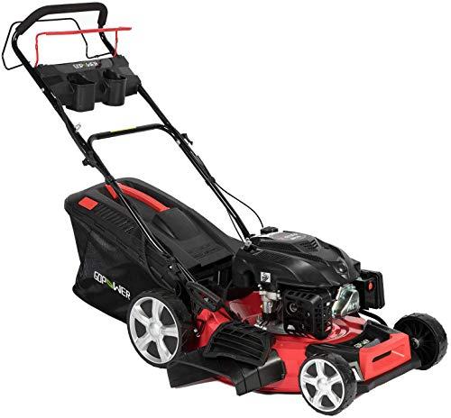 oneinmil Self Propelled Lawn Mower - RV175 173.9cc Gas 21'. 4-in-1 Rear Wheel Drive Self Propel Gas Lawn Mower