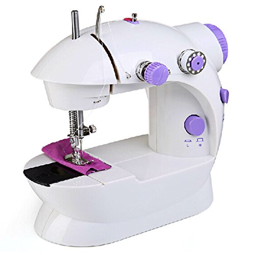 Lowest Price! LEXPON Desktop Multifunctional Electric Sewing Machine Household Double Stitches Sewin...