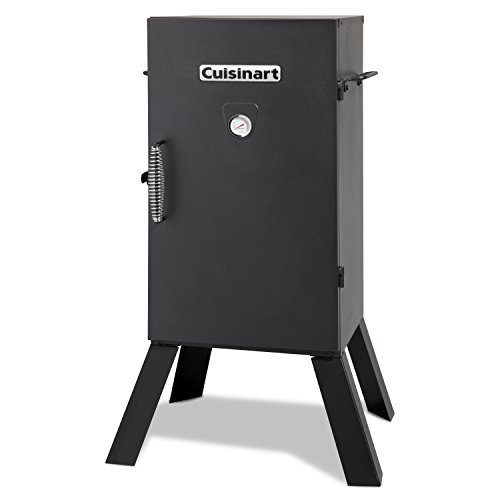 Our #1 Pick is the Cuisinart 30-inch Electric Smoker