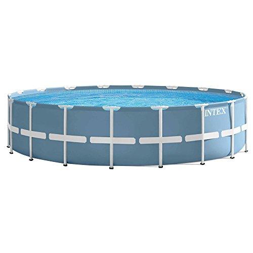 Intex Prism Frame Pool Set - Aufstellpool - Ø 549 x 122 cm - Zubehör enthalten