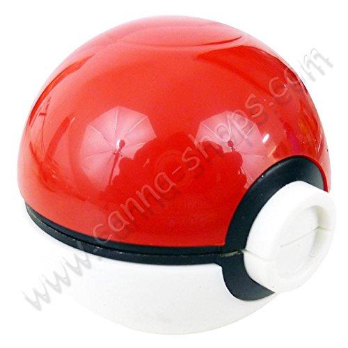 Unbekannt Grinder Pokeball - Rouge