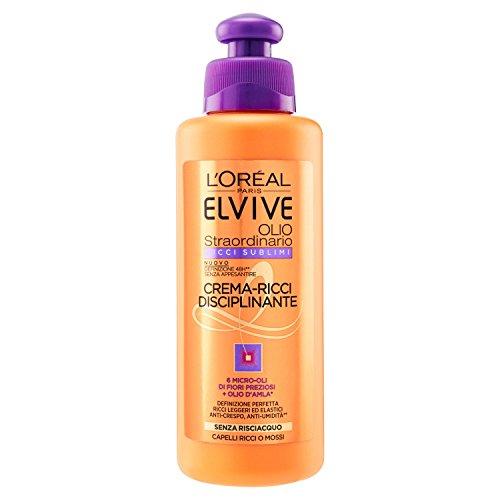 Elvive L'Oréal Paris Elvive Extraordinary Sublime Curl Oil, Cream-Rich Taming - 200 ml