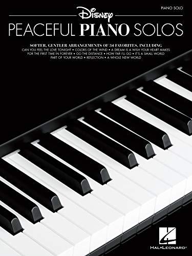 Disney Peaceful Piano Solos Songbook (English Edition)