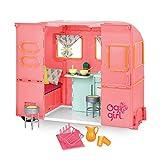 Our Generation- Caravana Rosa para muñeca, Color (Battat BD35115Z)