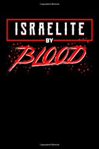 Israelite By Blood: Israel Notebook to Write in, 6x9, Lined, 120 Pages Journal