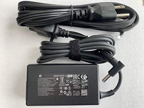 65W Blue tip AC Adapter for HP ELITEBOOK 840 G3 (V1H24UT, T6F46UT),HP 15-BS289WM, Compatible with P/N: 710412-001, PA-1650-20HL, TPN-LA16, L25298-001, 709985-002, 714657-001, 714159-001