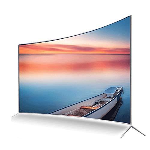DYYAN TV 55 Pulgadas Smart HD Television WiFi Smart LED TV con TDT, 2 X HDMI, USB Record