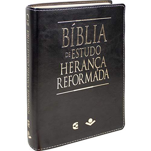 Bíblia de Estudo Herança Reformada: Almeida Revista e Atualizada (ARA)