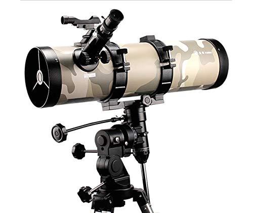 ZTBXQ Campingausrüstung ZubehörTeleskop 130mm Tragbarer Reflektorkaliber für Erwachsene 130MM Brennweite 650MM Brennweite F5 Okular RK20MM Sternsucher elektronischer Leuchtpunktsternsucher