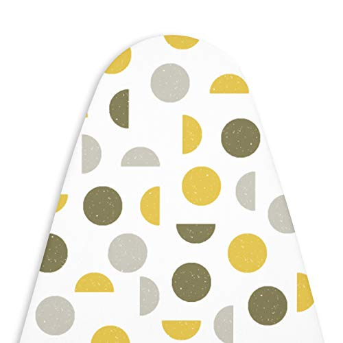 Encasa Homes Replacement Ironing Board Cover with 3mm Felt Padding,...
