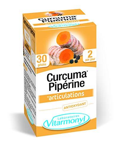 Vitarmonyl Curcuma Pipérine 30 Gélules