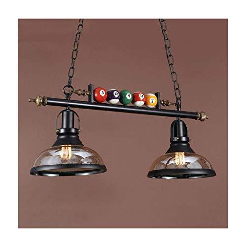 DIRIGIÓ Luz de techo Pendiente de la lámpara de luz retro creativo Industrial E27 Hierro forjado Bar Restaurante Sala de billar Mesa de comedor Decoración de techo lámpara de araña [ energética A +]