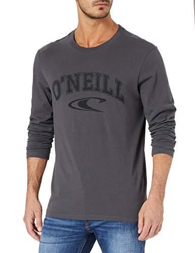 O'NEILL - Maglietta a maniche lunghe da uomo, Uomo, T-shirt, 1A2105, grigio, L