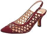 EFERRI Agatar, Zapato de tacón Mujer, Burdeos, 38 EU