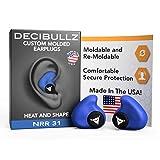 Decibullz–カスタム成形耳栓、31db最高NRR、快適なHearing Protection forシューティング、旅行、睡眠、水泳、作業とコンサート A