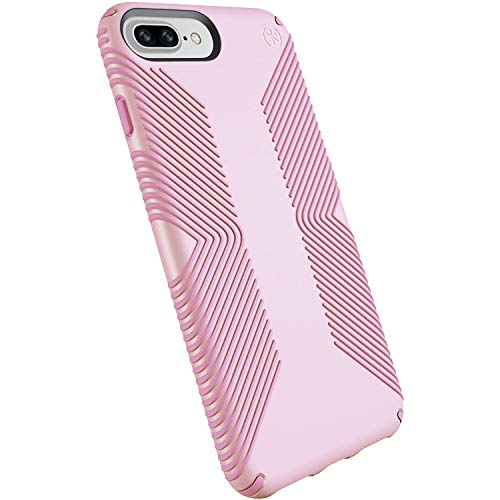 Speck Products Presidio Grip Case for iPhone 8 Plus, iPhone 7 Plus and iPhone 6S Plus/6 Plus - Ballet Pink/Ribbon Pink