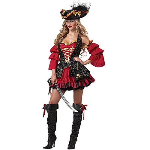NC Lencera Sexy, Disfraz De Pirata Mujer Sexy, Disfraz De Halloween, Escenario, Tentacin Uniforme, Cosplay