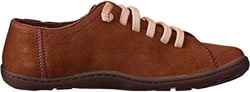 Camper Peu, Zapatillas para Mujer, Marrón (Medium Brown 210), 37 EU