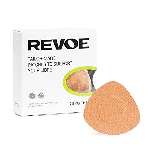 REVOE Libre Patch 20x - Cerotti sportivi per Freestyle Libre 1, 2 & 3 - vari colori disponibili (Skin)