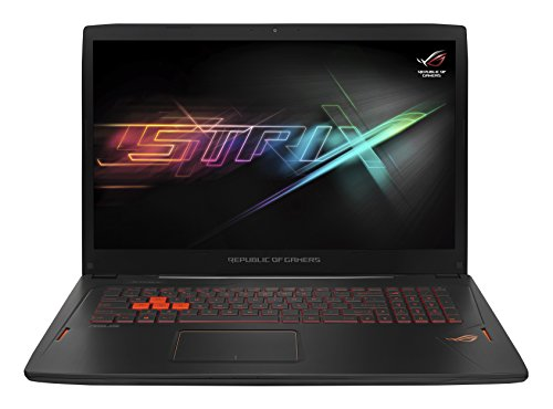 ASUS ROG Strix GL702VS-BA085T 17.3 inch Gaming Laptop (Intel Kabylake i7-7700HQ Processor, 24 GB DDR4 RAM, 256 GB SSD + 1 TB HDD, NVIDIA GTX1070 8 GB GDDR5 Graphics, G-Sync, Windows 10)