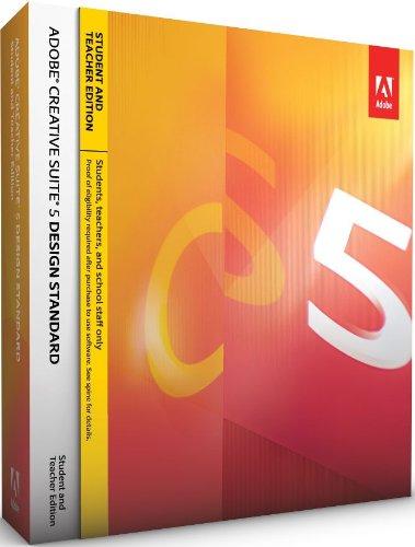 Adobe Creative Suite 5 Design Standard - STUDENT AND TEACHER EDITION - deutsch [import allemand]