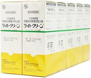 【10箱セット】ライトクリーン 犬用 15mL【動物用医薬品】
