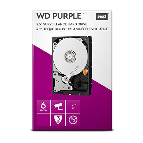 WD Purple 6TB Surveillance Hard Disk Drive - Intellipower 3.5
