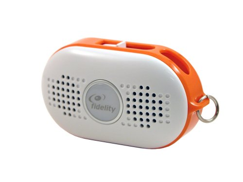 Fantastic Deal! Fidelity Mist Plus Portable Speaker for all MP3 players-Orange