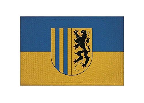 U24 Aufnäher Chemnitz Fahne Flagge Aufbügler Patch 9 x 6 cm