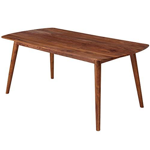 FineBuy Esszimmertisch FB13230 Holz 180x76x90 cm Sheesham Massivholz Tisch | Designer Küchentisch | Massiver Holztisch Rustikal | Speisetisch Massives Echt-Holz Modern