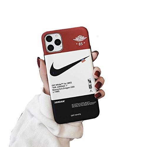 VIDALIBRE JUstJUnto Funda iPhone/Carcasa iPhone, Impresa por Marca Deportivo, Diseño de Zapatillas (iPhone 7+/8+)